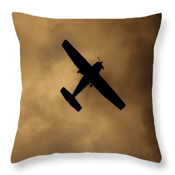 A Dance In The Clouds Throw Pillow