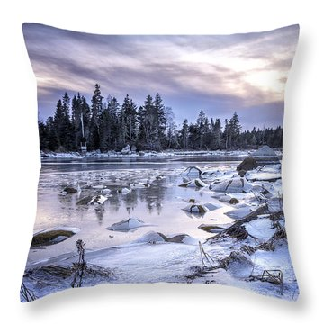 A Dangerous Cove Throw Pillow