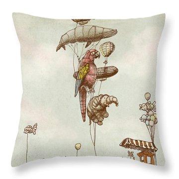 A Day At The Fair Throw Pillow