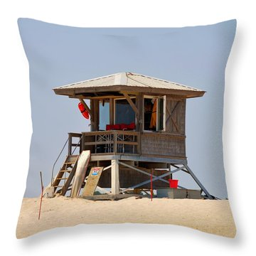 A Day At The Office Throw Pillow