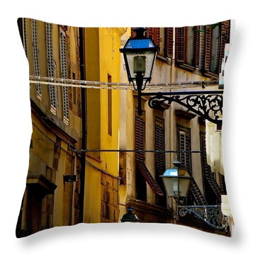 A Day In Florence Throw Pillow by Ira Shander