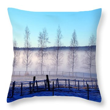 A Day Off Throw Pillow