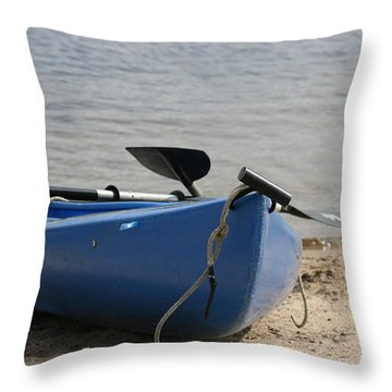 A Day On The Water Throw Pillow