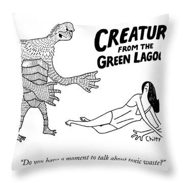 Toxic Waste Throw Pillows
