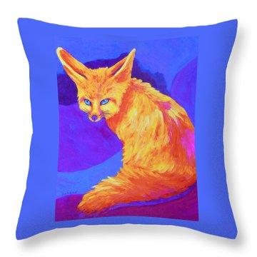 A Desert Dweller Throw Pillow