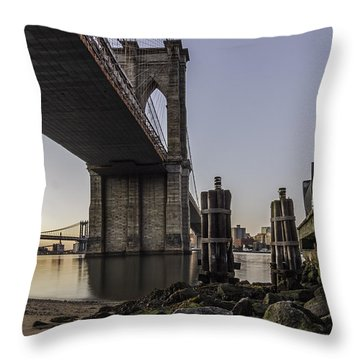 Throw Pillow featuring the photograph A Different Look  by Anthony Fields