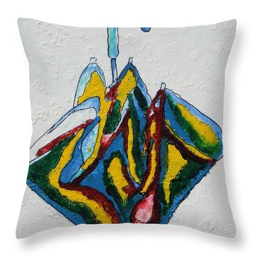 A Different One Throw Pillow