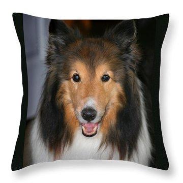 A Dog Named Beau Throw Pillow