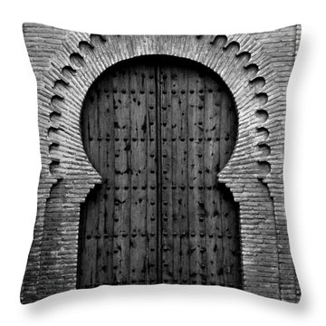 A Door To Glory Throw Pillow by Syed Aqueel
