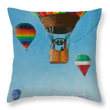 A Dream Come True Throw Pillow by Margaret Bobb