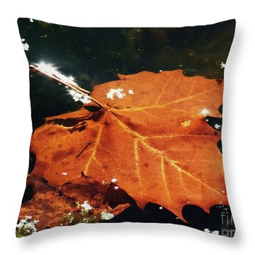 A Drift Throw Pillow