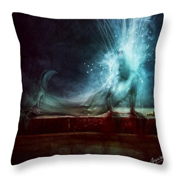 A Dying Wish Throw Pillow
