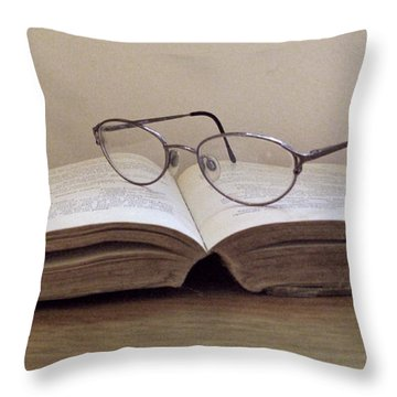 A Favorite Throw Pillow by Barbara McDevitt