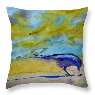 A Find Throw Pillow by Beverley Harper Tinsley