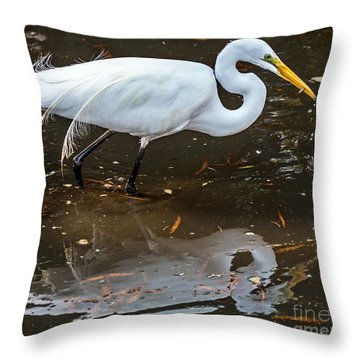 A Fine Catch Throw Pillow