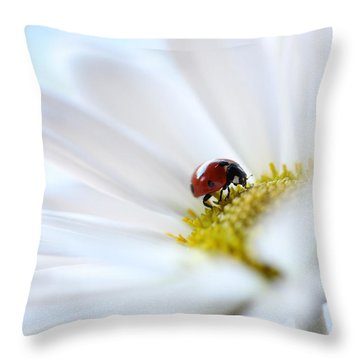 A Fine Lady Throw Pillow