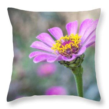 A Flowers Beauty Throw Pillow