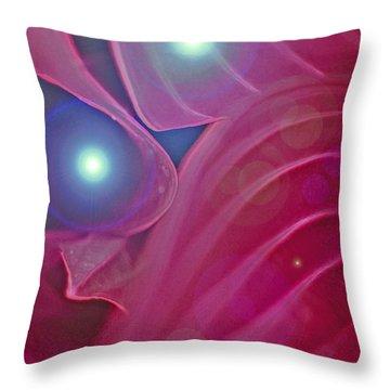 A Flutter Of Fairies Throw Pillow by First Star Art