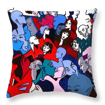 A Fragile Ecosystem Of Dependency Throw Pillow
