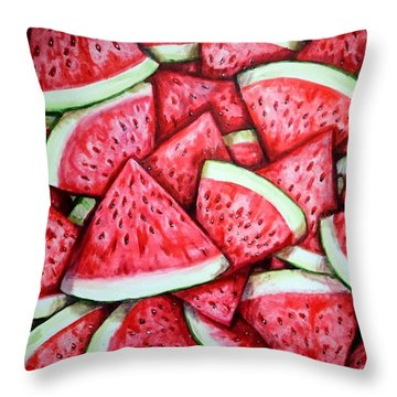 A Fresh Summer 2 Throw Pillow by Shana Rowe Jackson