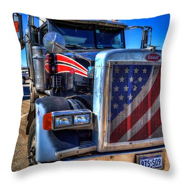 A Friend Of Optimus Prime Throw Pillow