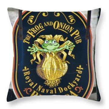 Bermuda Onion Throw Pillows