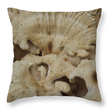 A Fungus Among Us 3 Throw Pillow