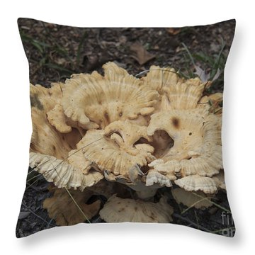 A Fungus Is Among Us 1 Throw Pillow