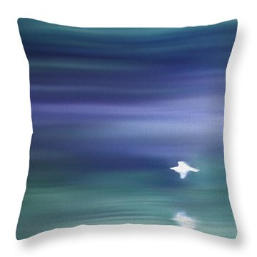 A Gentle Breeze Throw Pillow by Kume Bryant