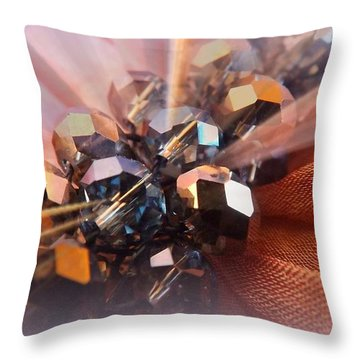 Throw Pillow featuring the photograph A Girls Best Friend  by Clare Bevan