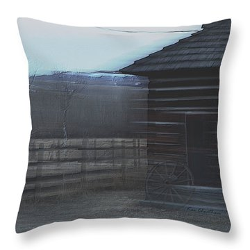 A Glance Back 2 Throw Pillow