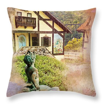 A Glimpse Of Bavaria In West Virginia Throw Pillow