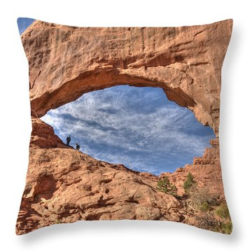 A Glimpse Of The Heavens Throw Pillow