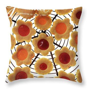 A Gourmet Cover Of Sunny Savaroffs Cookies Throw Pillow