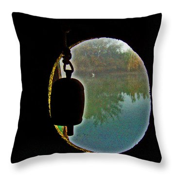 A Gr8 Delta View Throw Pillow