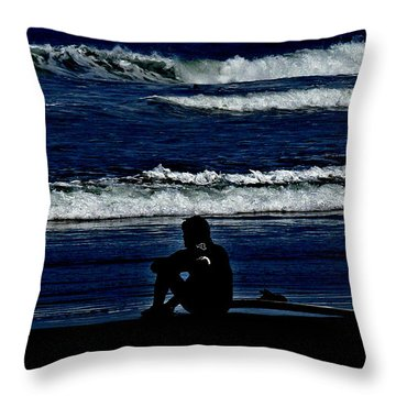 A Gr8 Ride Throw Pillow