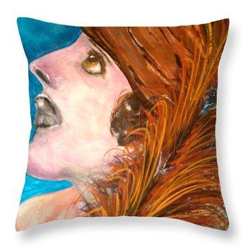 A Grand Affair Throw Pillow by Lori  Lovetere
