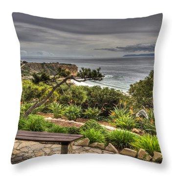 A Grand Vista Throw Pillow by Heidi Smith