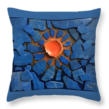 Cbs Sunday Morning A Greater Light To Rule The Day Throw Pillow