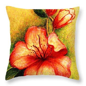 A Harbinger Of Springtime Throw Pillow