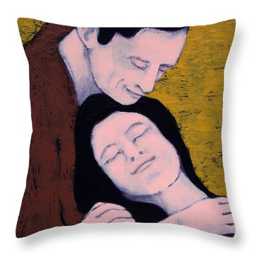 A Heart I Can Rely On Throw Pillow
