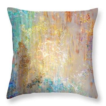 A Heart So Big - Abstract Art Throw Pillow