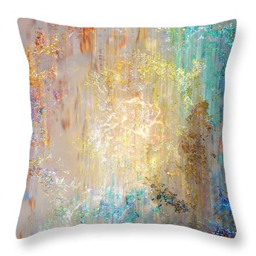 A Heart So Big - Custom Version 2 - Abstract Art Throw Pillow