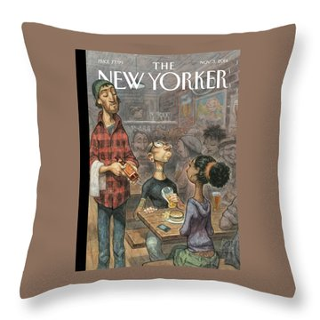 Hip Hops Throw Pillow