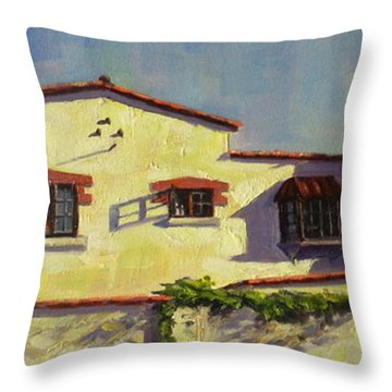A Home In Barranco Throw Pillow