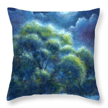 A Hope And A Future Throw Pillow by Retta Stephenson