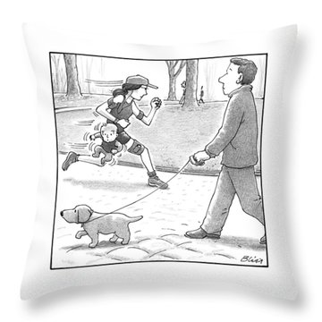 Jogger Throw Pillows