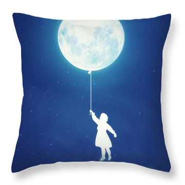 A Journey Of The Imagination Throw Pillow