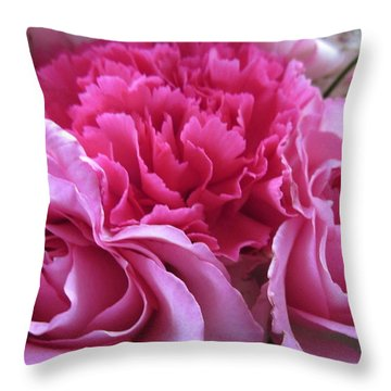 Happy Mothers Day/a Bundle Of Joy Throw Pillow