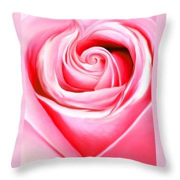 A Joyful Heart Throw Pillow